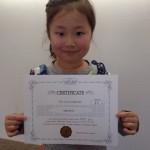姉妹でやったねっ♪児童英検ブロンズ合格名古屋市中区子ども英語教室English Factory