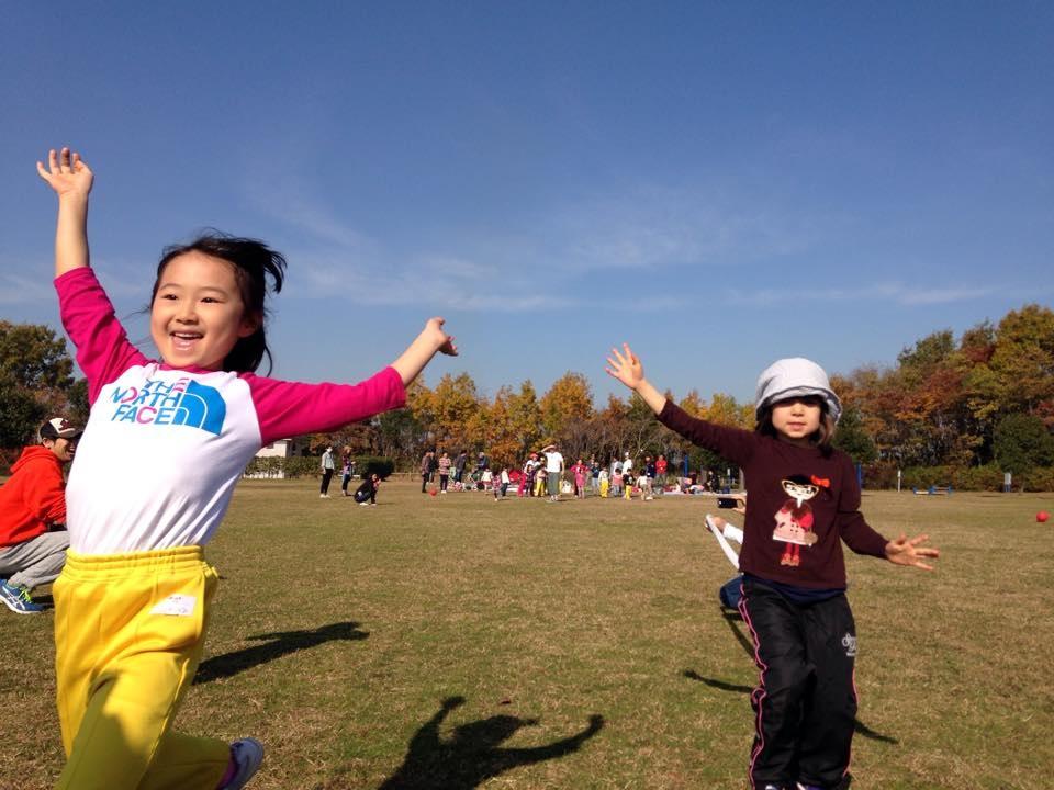 名古屋市中区こども英語教室English Factory/American Sports Day2014戸田川緑地
