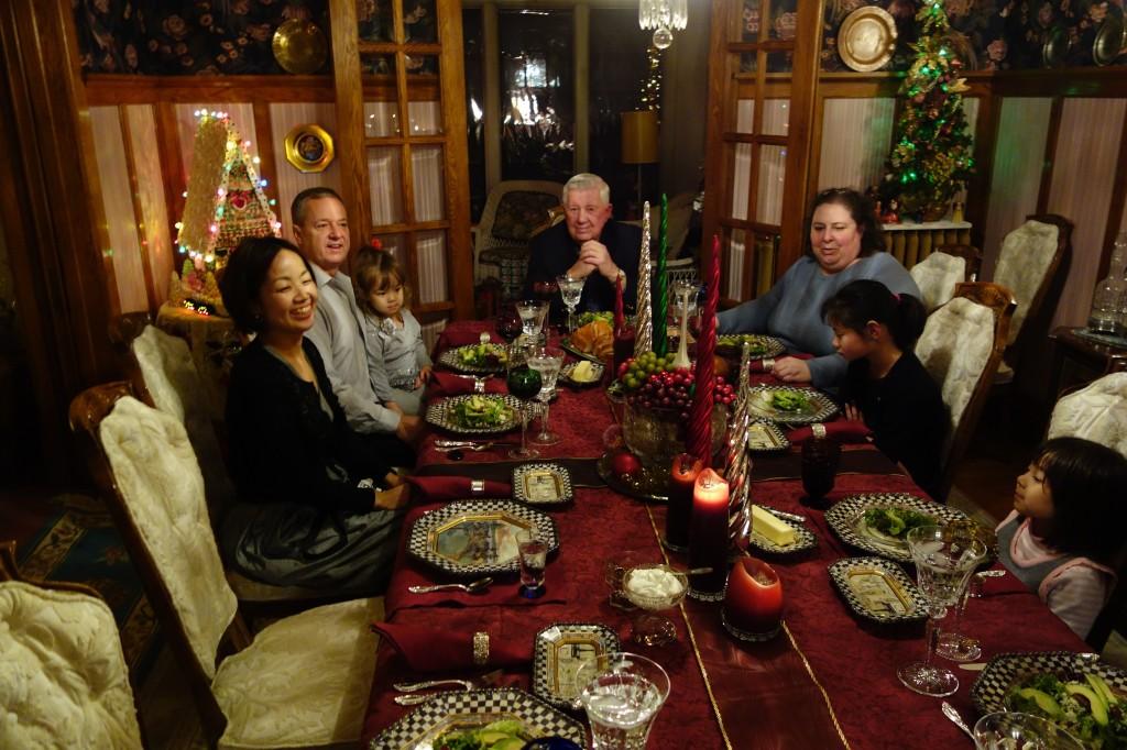 パーソンズ家のクリスマス2014 in US/名古屋市中区こども英語教室English Factory