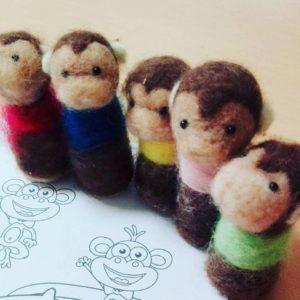 名古屋市中区子ども英語教室English Factory/Five Little Monekys
