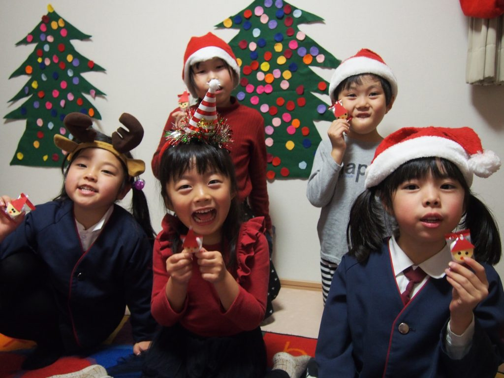 名古屋市中区子ども英語教室English Factory/クリスマス2019