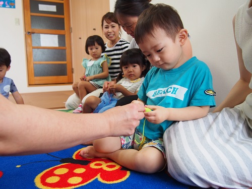 名古屋市中区子ども英語教室English Factory/未就園児さんの親子クラス