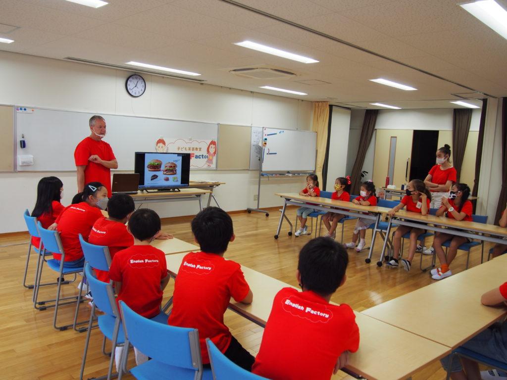 小学生サマースクール2021/子ども英語教室English Factory